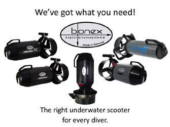 Dive Scooter from Bonex